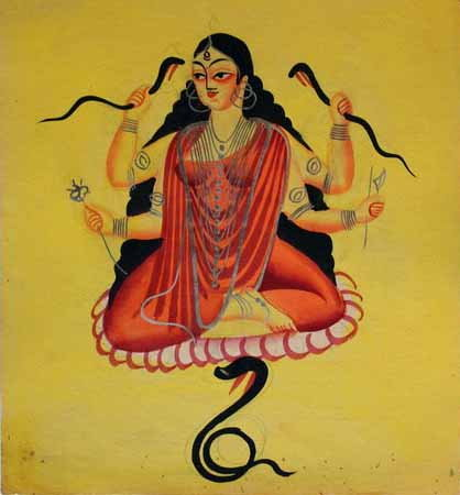 manasa daughter of Lord Shiva
