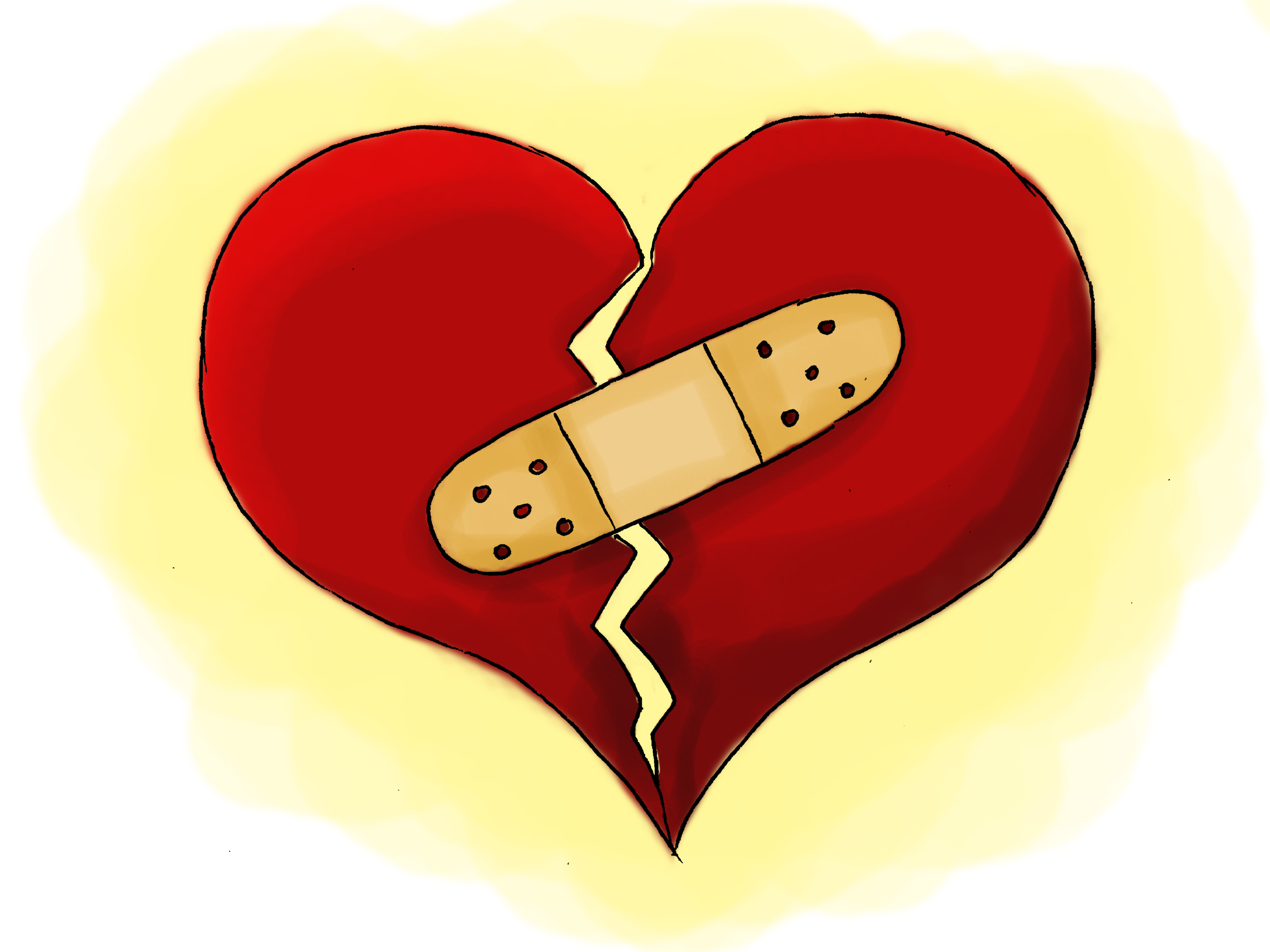 how do i deal with a broken heart