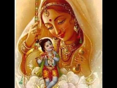 Meerabai and Lord Krishna