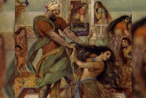 Draupadi as a Woman in Mahabharata