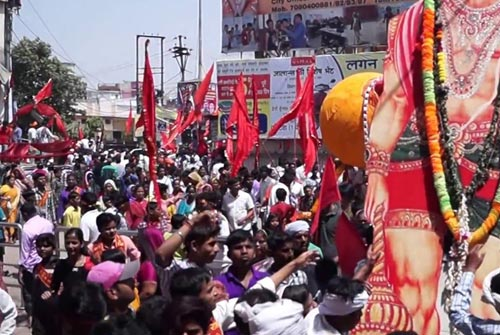Hanuman jayanti celebration