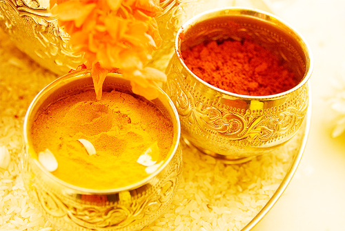 Haldi – the at home beautification process