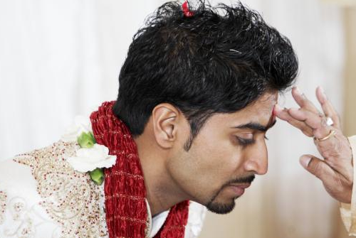 Tilak ceremony in Indian weddings