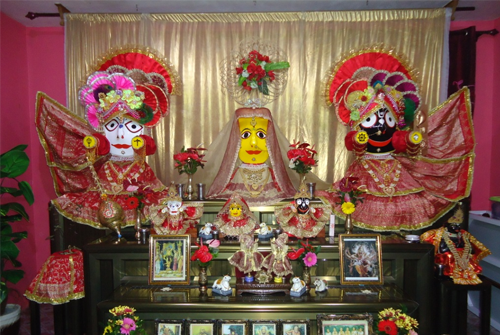 Jagannath Temple outside India