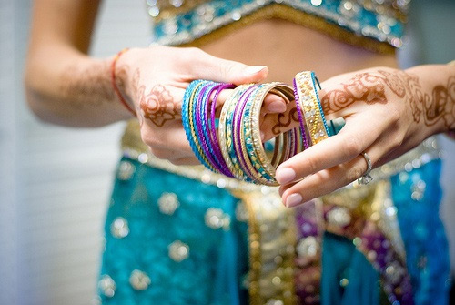 Bangles Indian woman