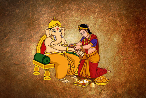 Raksha Bandhan of God