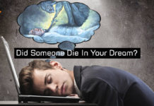 Saw A Dream Of Someone Dying