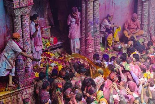Krishna Janmashtami at Mathura