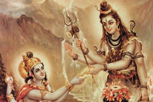 lord vishnu and lord shiva