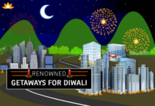 Getaways for Diwali