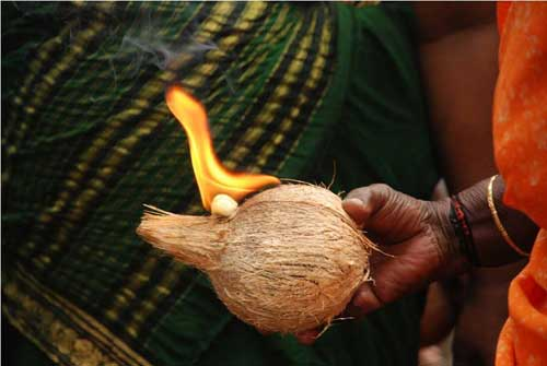 coconut in hinduism