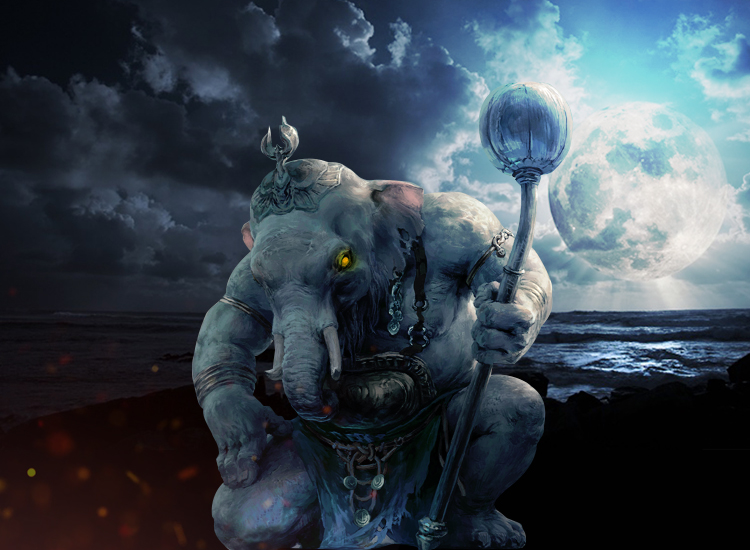 Ganesh Chaturthi - The Mysterious Curse To The Moon By Lord Ganesha