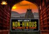 Why aren't non-Hindus allowed in some Hindu Temples?