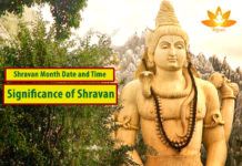 Shravan Month Date and Time - Significance of Shravan Monday