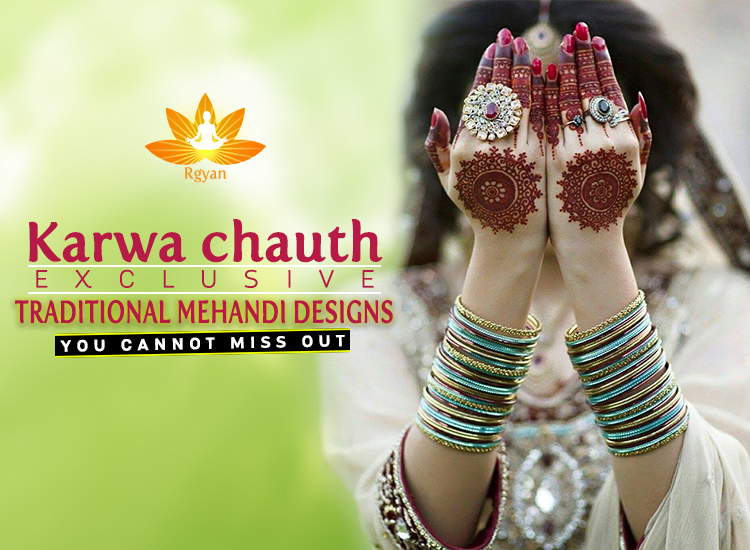 Karwachauth Traditional Mehendi designs