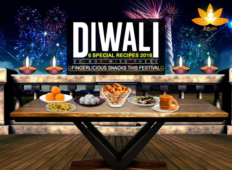 Diwali Recipes not to miss out | Diwali Sweets | Diwali Recipes 2018| Diwali 6 Special Recipes | Rgyan_Blog