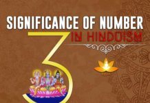 Importance of Number 3 in Hinduism - Significance of 3 Number in Hindu