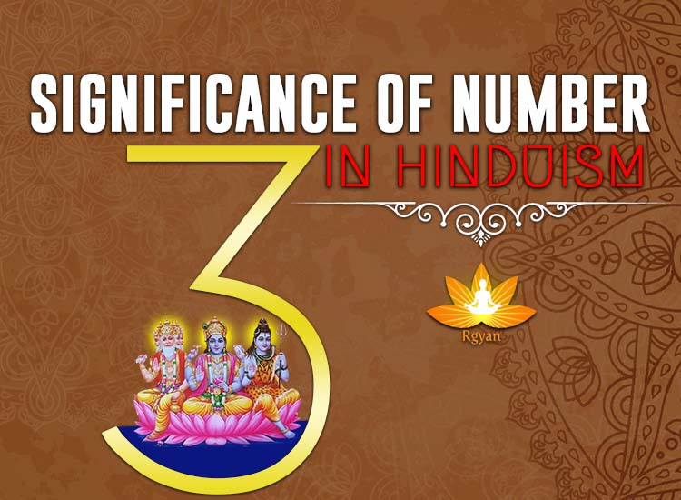 Significance of Number 3 in Hinduism - Importance of 3 Number in Hindu