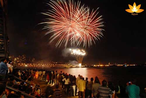 New Year Celebration in Varanasi
