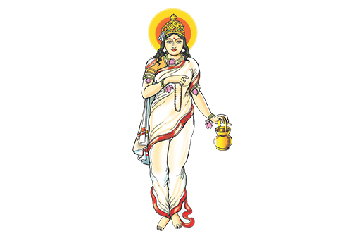 Navratri Day 2 Color: White