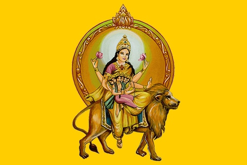 Navratri Day 5 Color: Yellow