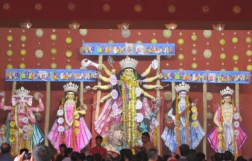 Durga Pandal - Mela Ground, CR Park