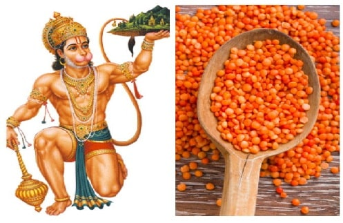 hanuman favourite food