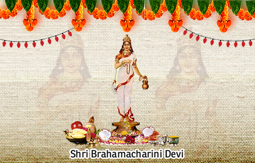 Goddess Brahmacharini - 2nd form of NavDurga