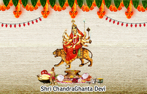 Goddess Chandraghanta - The 3rd Form