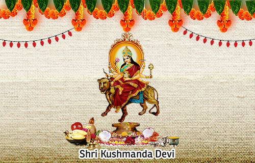 Goddess Kushmanda - The 4th Form