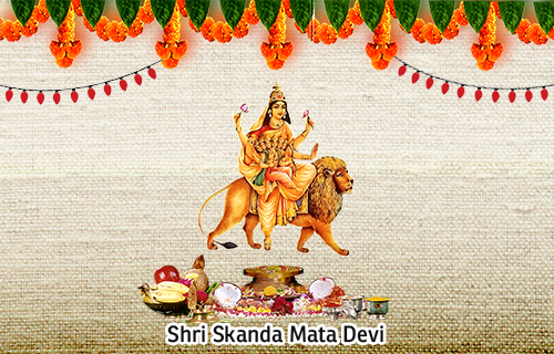 The Fifth form NavDurga - Skandamata
