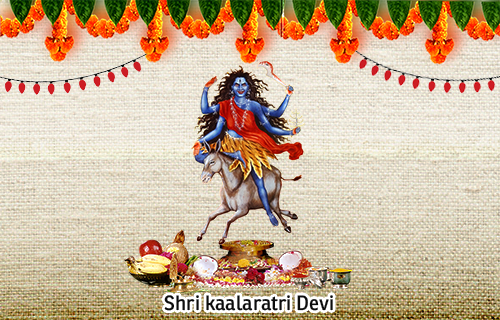 Goddess Kalaratri - Most ferocious avatar of NavaDurga
