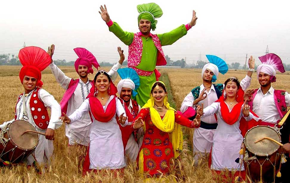 Dance form and dress of Baisakhi
