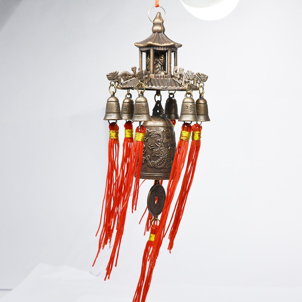 Fengshui Buddha Wind Chime for Wealth & Good Luck