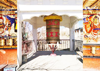Mogol Prayer Wheel
