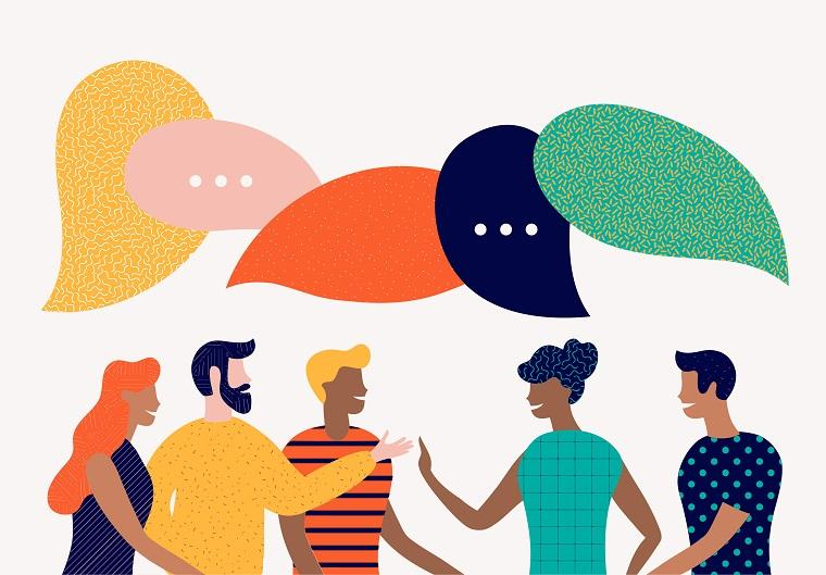Connect with people to fresh your mind