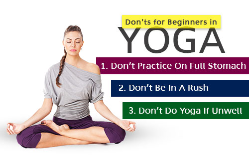 Don'ts for Beginners in Yoga
