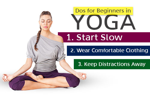 Dos for Beginners in Yoga
