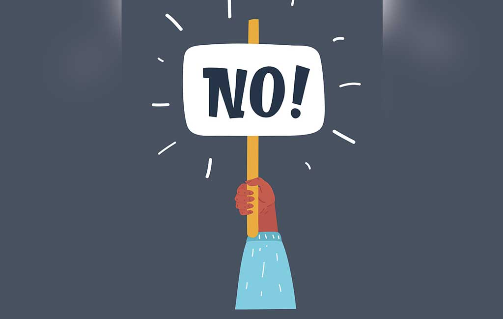 learn to say no to balanced work and life