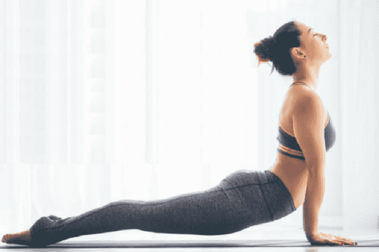 Yoga helps in relieving back pain